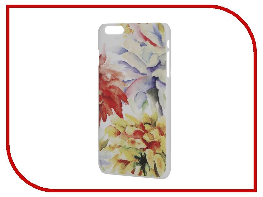Аксессуар Чехол iPapai для iPhone 6 Plus Цветы Акварель<br>