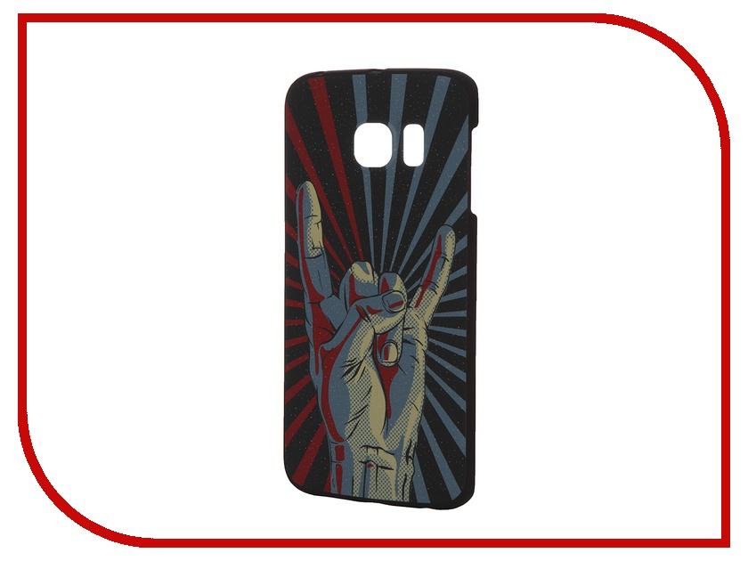 ��������� �����-�������� Samsung Galaxy S6 Edge iPapai Rock n Roll ����