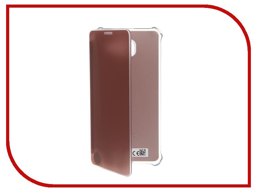 Аксессуар Чехол Samsung Galaxy A7 2016 Clear Cover Pink EF-ZA710CZEGRU