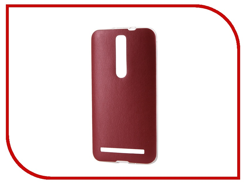Аксессуар Чехол ASUS ZenFone 2 ZE550ML 5.5 Activ HiCase Red 52358