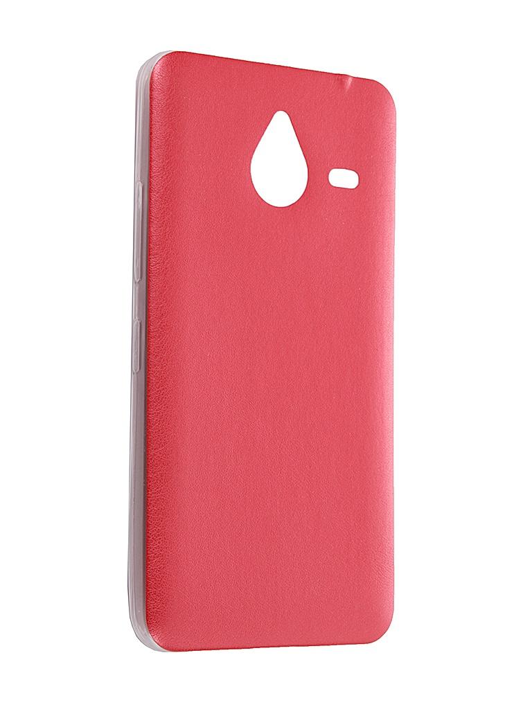 Аксессуар Чехол Microsoft Lumia 640 Activ HiCase Red 52403<br>