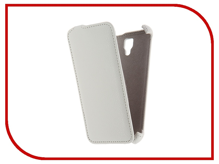 Аксессуар Чехол Lenovo A2010 Activ Flip Case Leather White 55350<br>