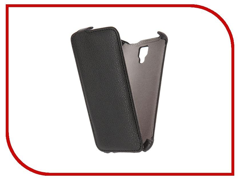 Аксессуар Чехол Lenovo A2010 Activ Flip Case Leather Black 52688<br>