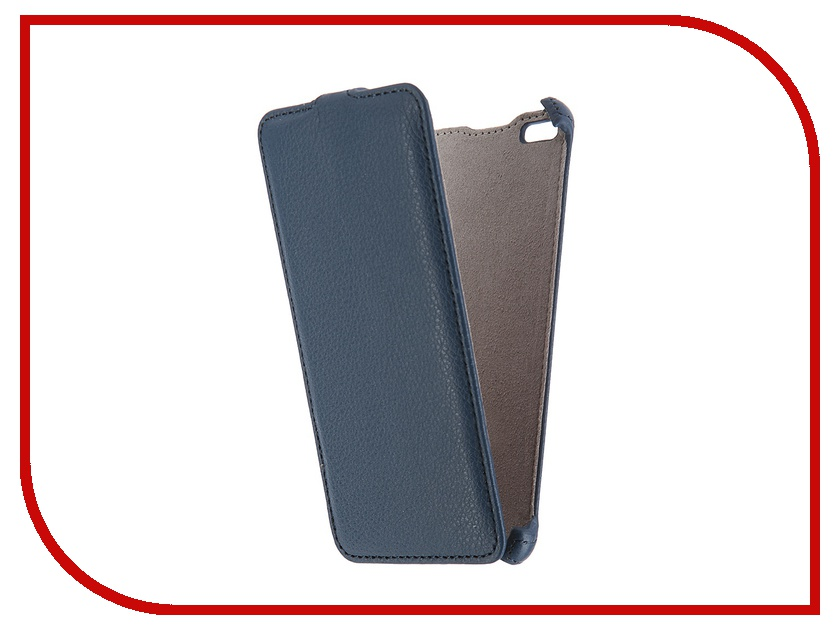 Аксессуар Чехол Micromax Q450 Canvas Silver 5 Activ Flip Case Leather Blue 55383