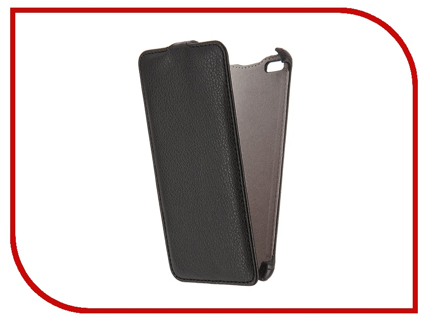 Аксессуар Чехол Micromax Q450 Canvas Silver 5 Activ Flip Case Leather Black 55382