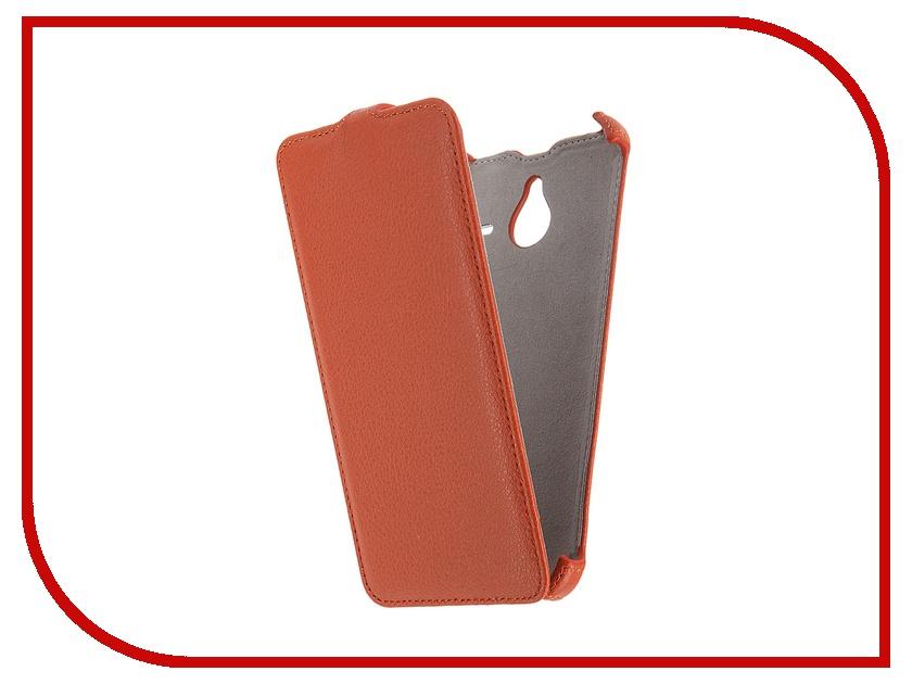Аксессуар Чехол Microsoft Lumia 640 XL Activ Leather Flip Case Orange 47805<br>