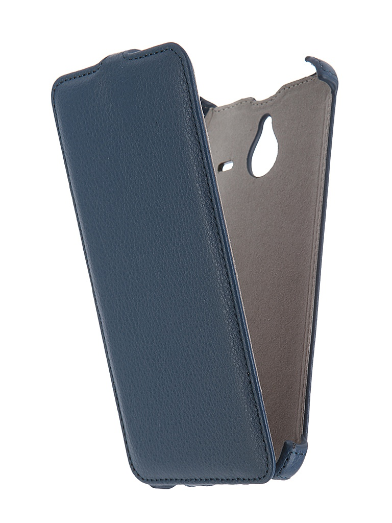 Аксессуар Чехол Microsoft Lumia 640 XL Activ Leather Flip Case Blue 47804<br>