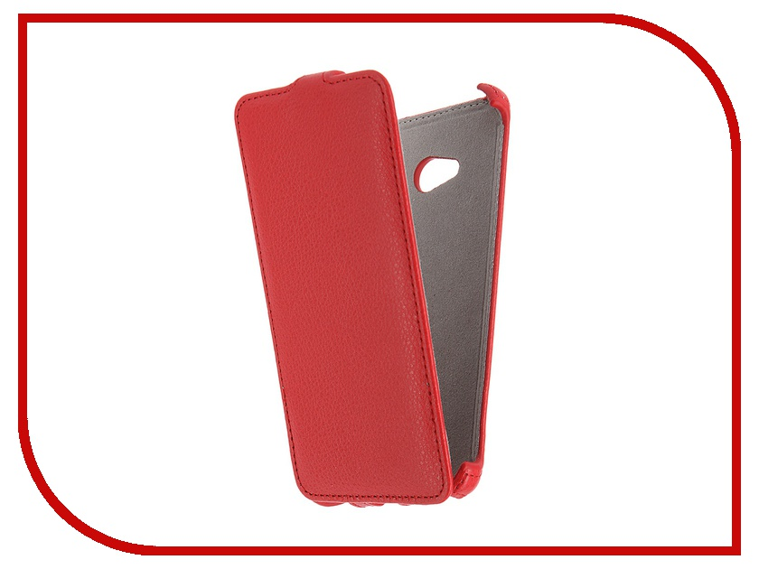 Аксессуар Чехол Microsoft Lumia 640 Activ Leather Flip Case Red 47796