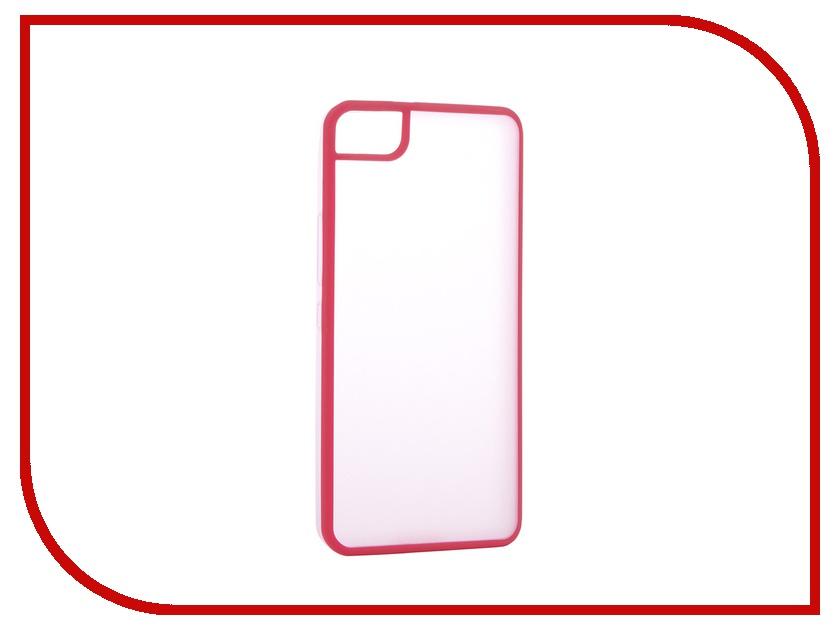Аксессуар Чехол BQ Aquaris M4.5 Gummy Pink