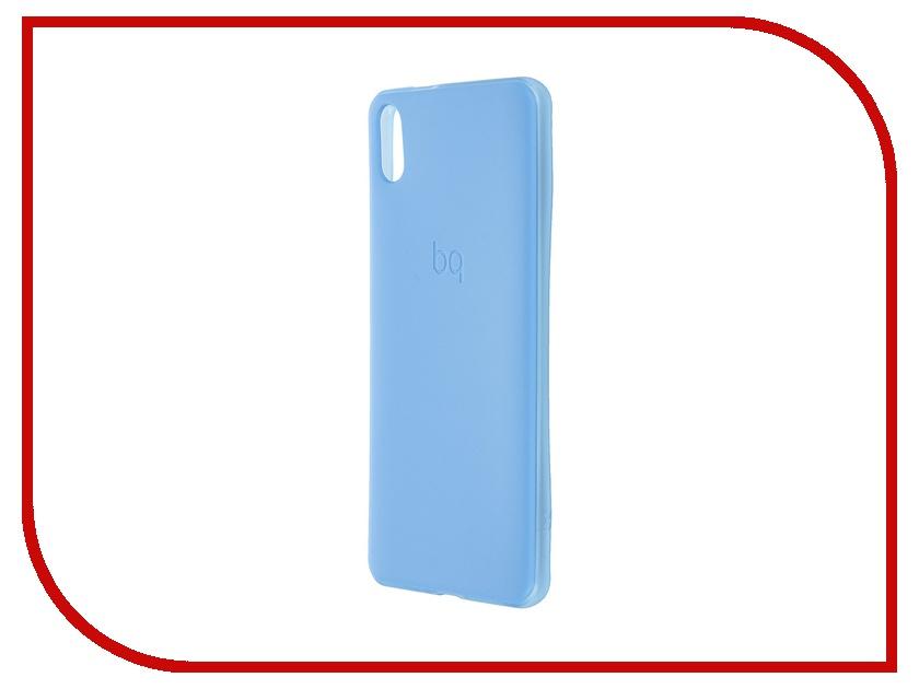 Аксессуар Чехол BQ Aquaris X5 Gummy Blue аксессуар чехол флип dexp ixion es150 blue