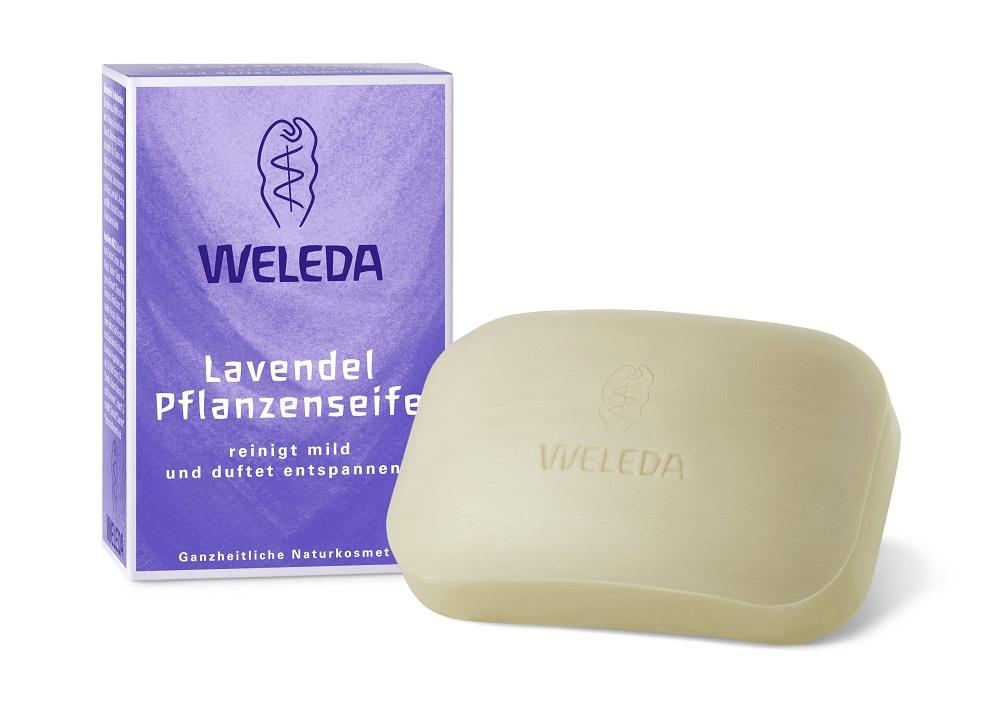 Средство для ухода за телом Weleda лавандовое мыло 100 гр 9816