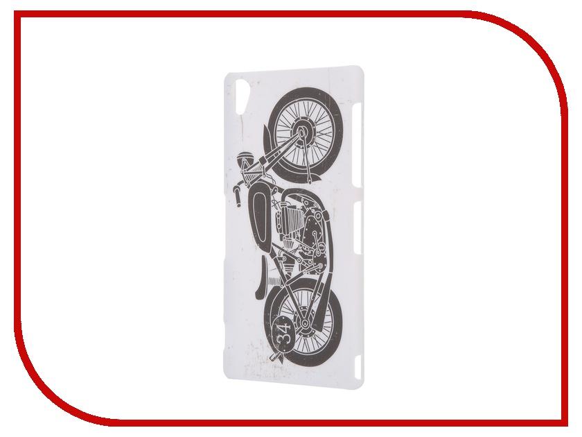 Аксессуар Чехол Sony Xperia Z3 iPapai Rock n Roll Мотоцикл<br>