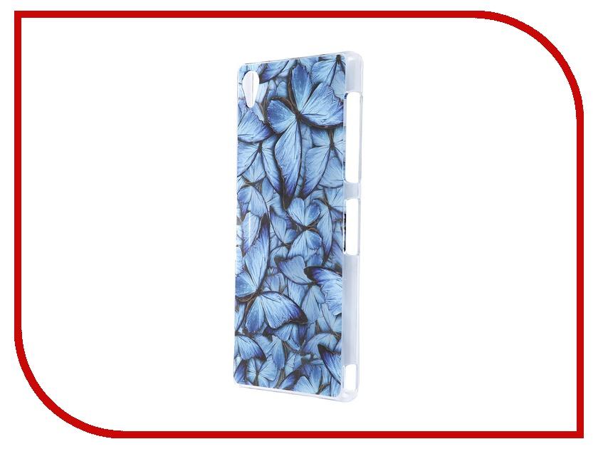все цены на  Аксессуар Чехол Sony Xperia Z3 iPapai Синие бабочки  онлайн