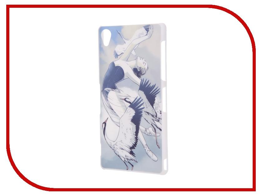 Аксессуар Чехол Sony Xperia Z3 iPapai Женственность Балерина<br>