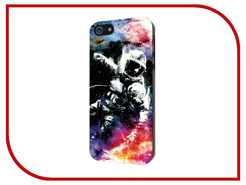 Аксессуар Чехол iPapai для iPhone 5 / 5S Космос Космонавт<br>