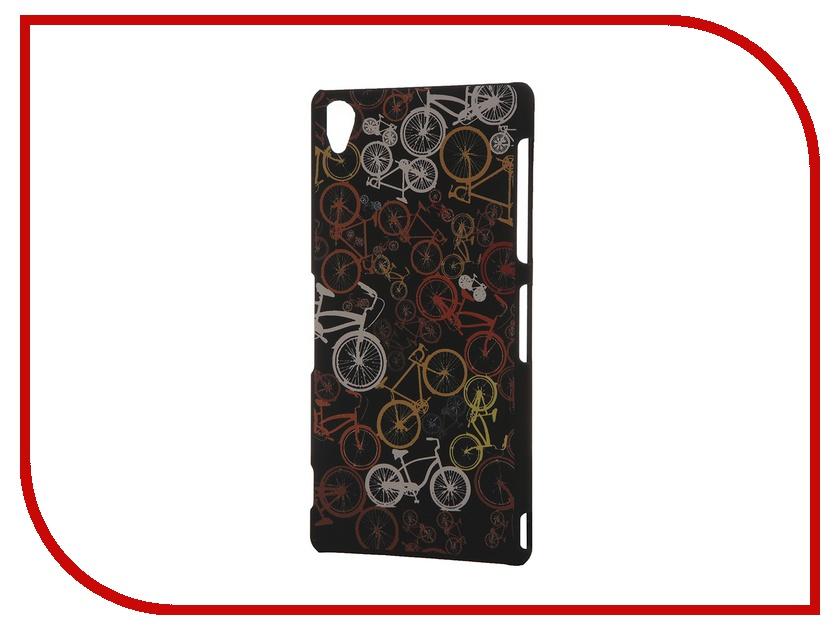 Аксессуар Чехол Sony Xperia Z3 iPapai Rock n Roll Велосипеды<br>