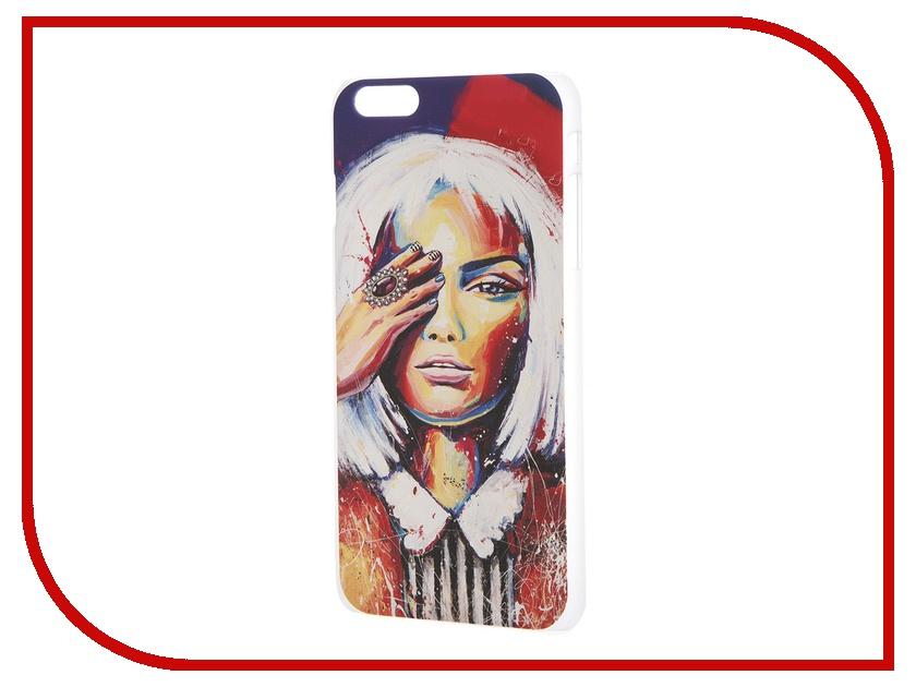 Аксессуар Чехол iPapai для iPhone 6 Plus Light Art Блондинка<br>