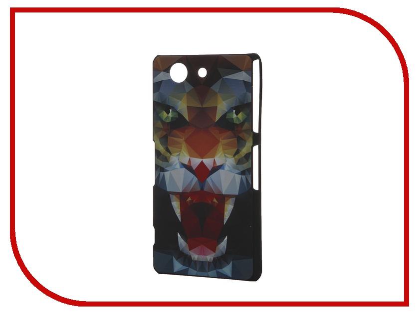 Аксессуар Чехол Sony Xperia Z3 Compact iPapai Тотемы Пасть<br>