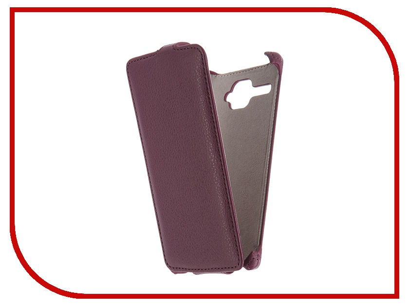 Аксессуар Чехол Fly FS501 Nimbus 3 Activ Flip Case Leather Violet 52677