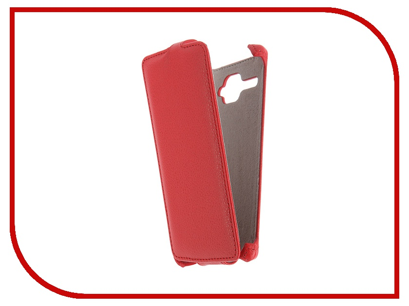 Аксессуар Чехол Fly FS501 Nimbus 3 Activ Flip Case Leather Red 51305<br>