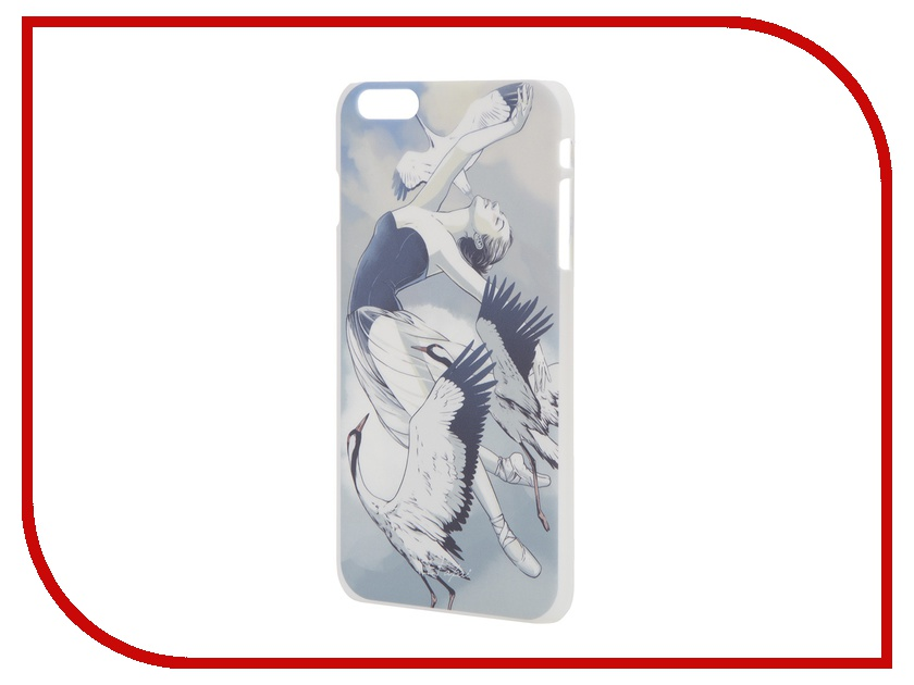 Аксессуар Чехол iPapai для iPhone 6 Plus Женственность Балерина<br>