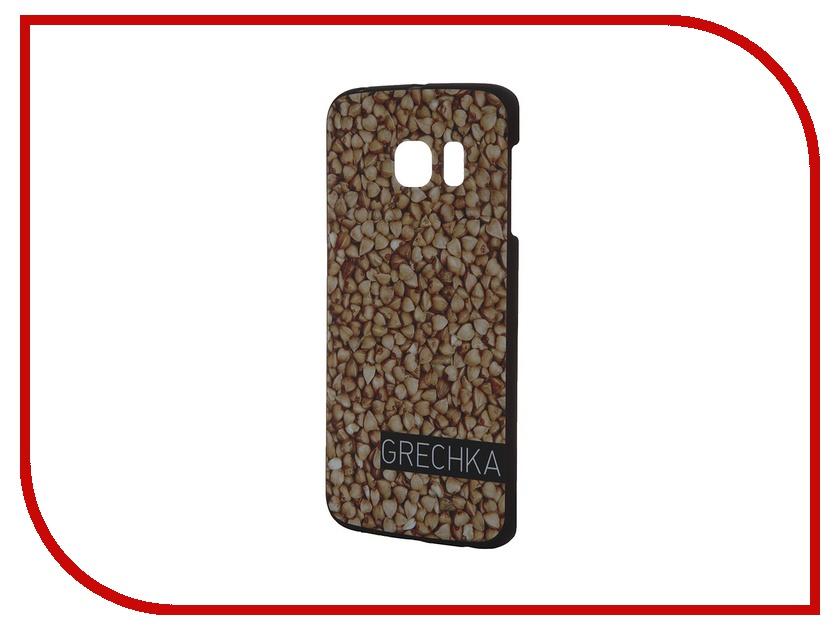 Аксессуар Чехол-накладка Samsung G925F Galaxy S6 Edge iPapai Витамины Греча<br>