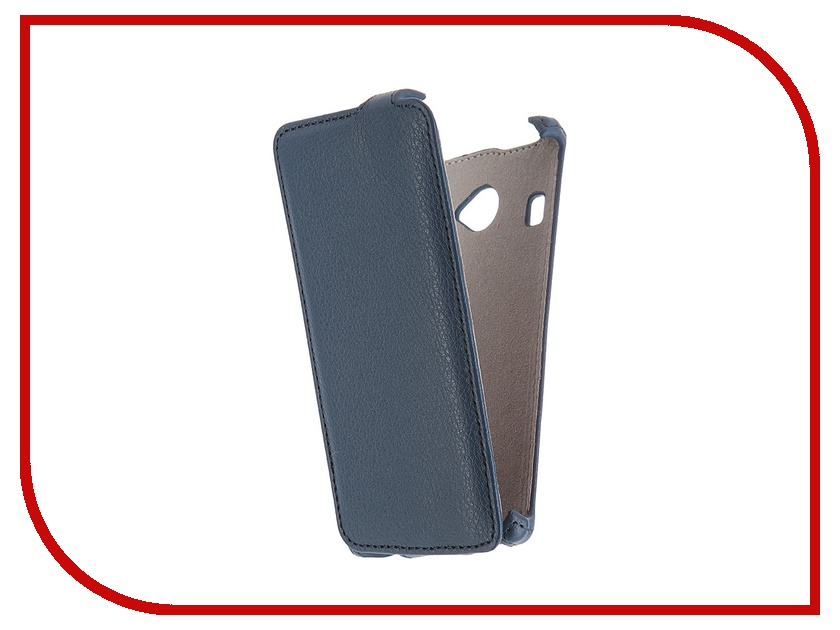 Аксессуар Чехол Fly FS451 Nimbus 1 Activ Flip Case Leather Blue 52673<br>