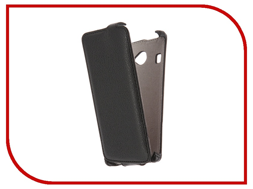 Аксессуар Чехол Fly FS451 Nimbus 1 Activ Flip Case Leather Black 51298<br>