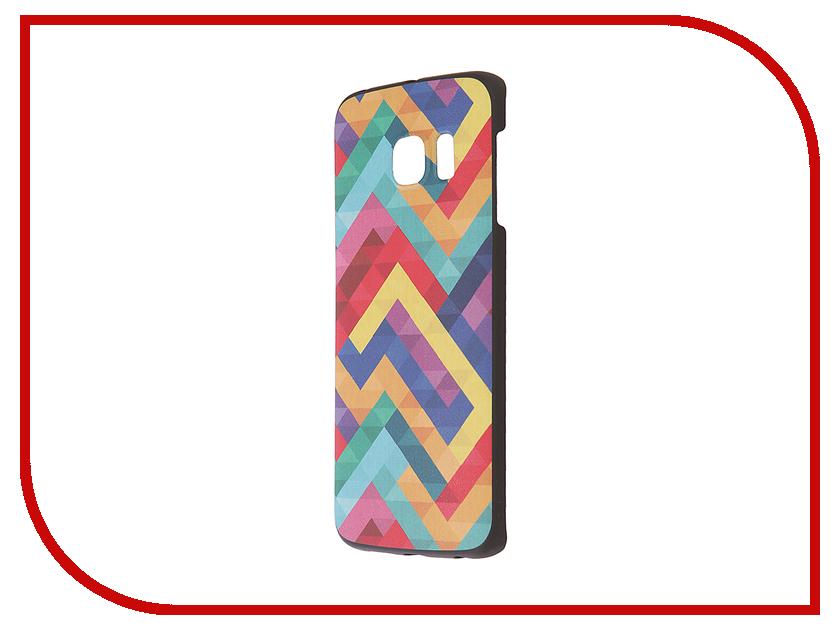 Аксессуар Чехол-накладка Samsung G925F Galaxy S6 Edge iPapai Паттерн Вид 2<br>