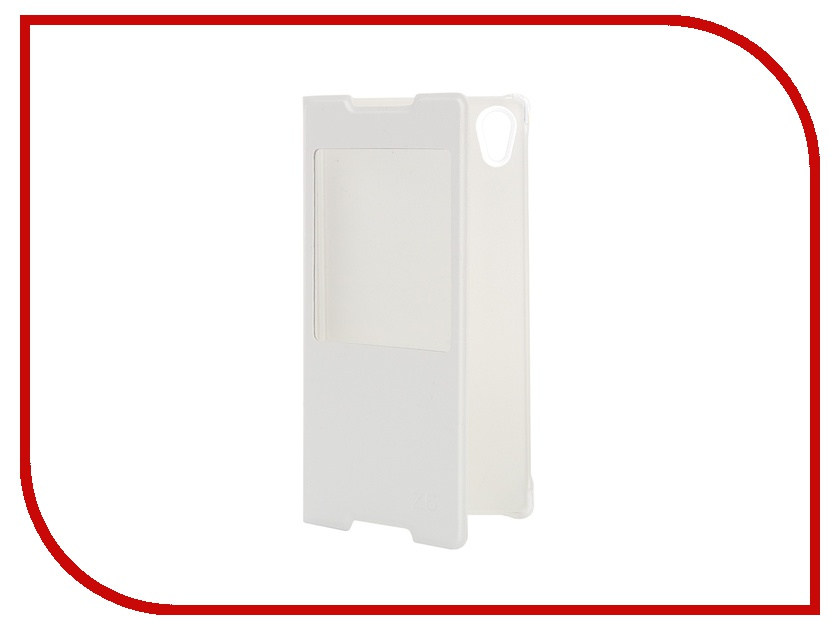 Аксессуар Чехол Sony Xperia Z5 Activ Book Case S View Cover White 56613<br>