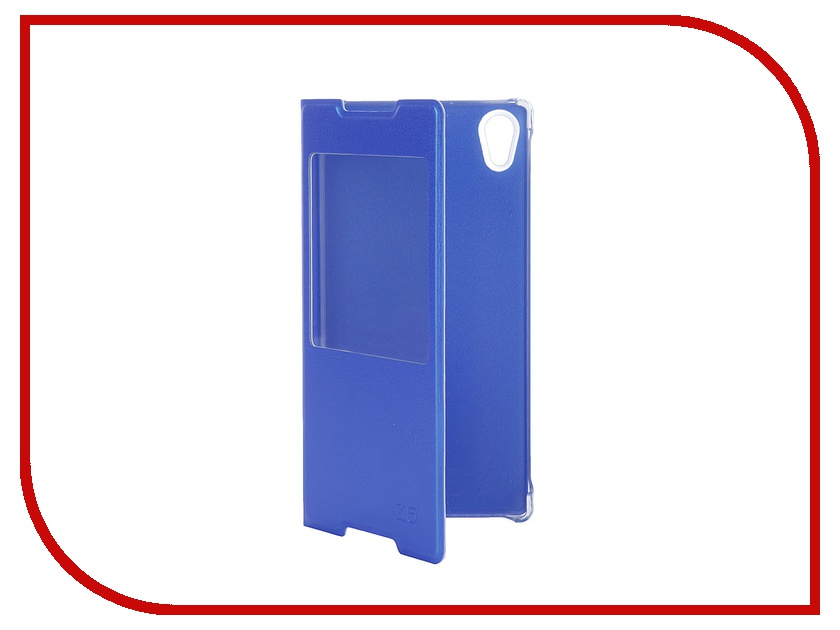 Аксессуар Чехол Sony Xperia Z5 Activ Book Case S View Cover Blue 50437<br>