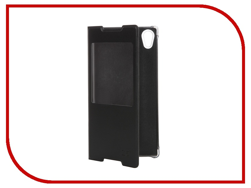 Аксессуар Чехол Sony Xperia Z5 Activ Book Case S View Cover Black 56614