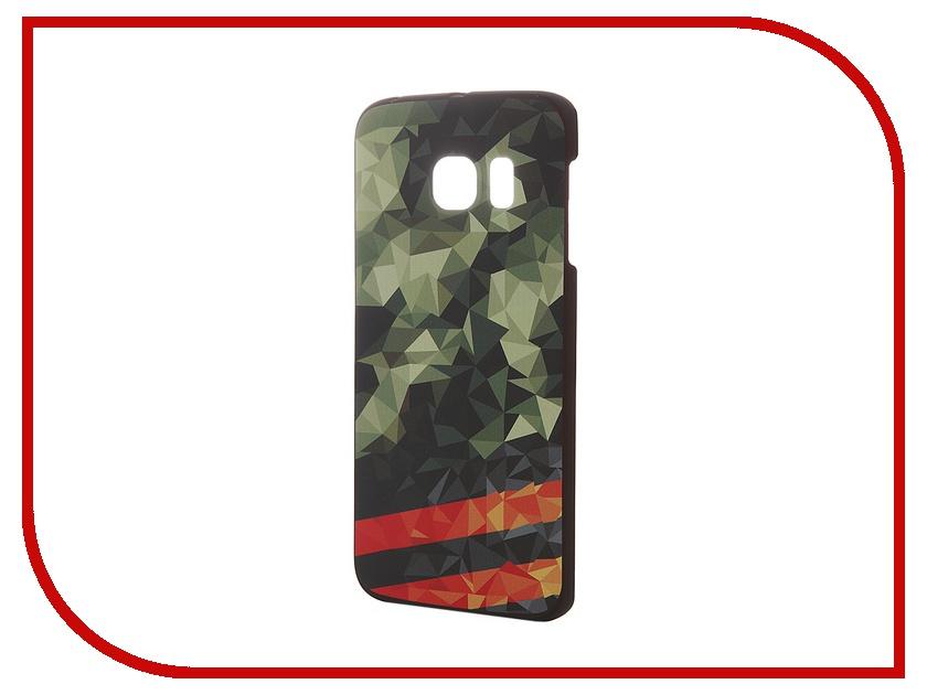 Аксессуар Чехол-накладка Samsung G925F Galaxy S6 Edge iPapai 9 Мая Green<br>