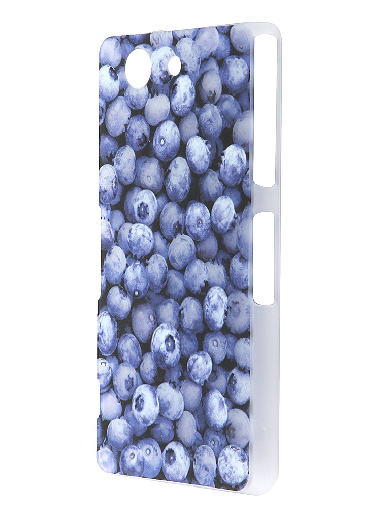 Аксессуар Чехол Sony Xperia Z3 Compact iPapai Витамины Черника<br>