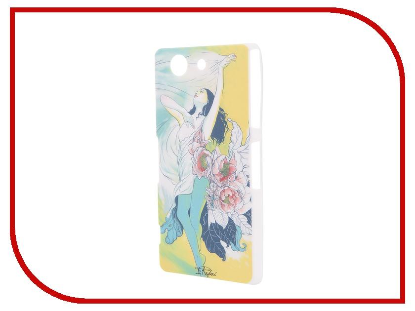 Аксессуар Чехол Sony Xperia Z3 Compact iPapai Женственность Брюнетка<br>