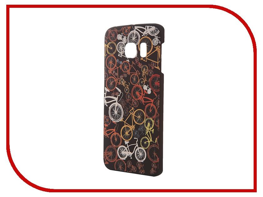 Аксессуар Чехол-накладка Samsung G925F Galaxy S6 Edge iPapai Rock n Roll Велосипеды<br>
