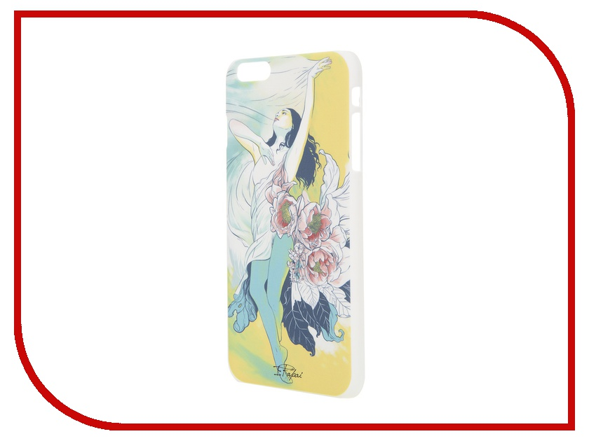 все цены на Аксессуар Чехол iPapai для iPhone 6 Plus Женственность Брюнетка онлайн