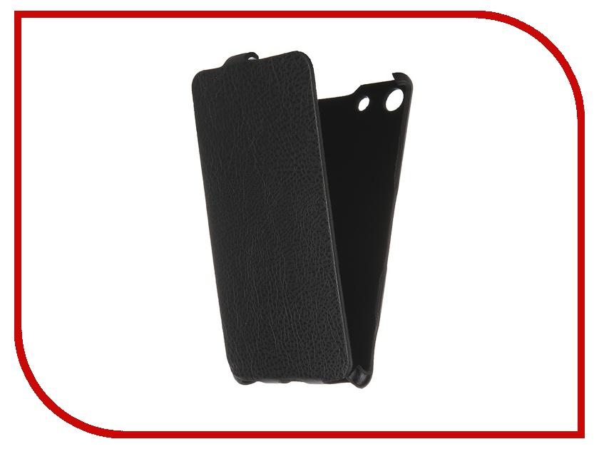 где купить  Аксессуар Чехол Sony Xperia M5 iBox Premium Black  дешево