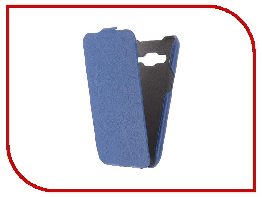 Аксессуар Чехол Samsung G360/G361 Galaxy Core Prime iBox Premium Blue аксессуар защитная пленка samsung galaxy core prime g360 interstep ultra ультрапрозрачная sagcopruc 38587