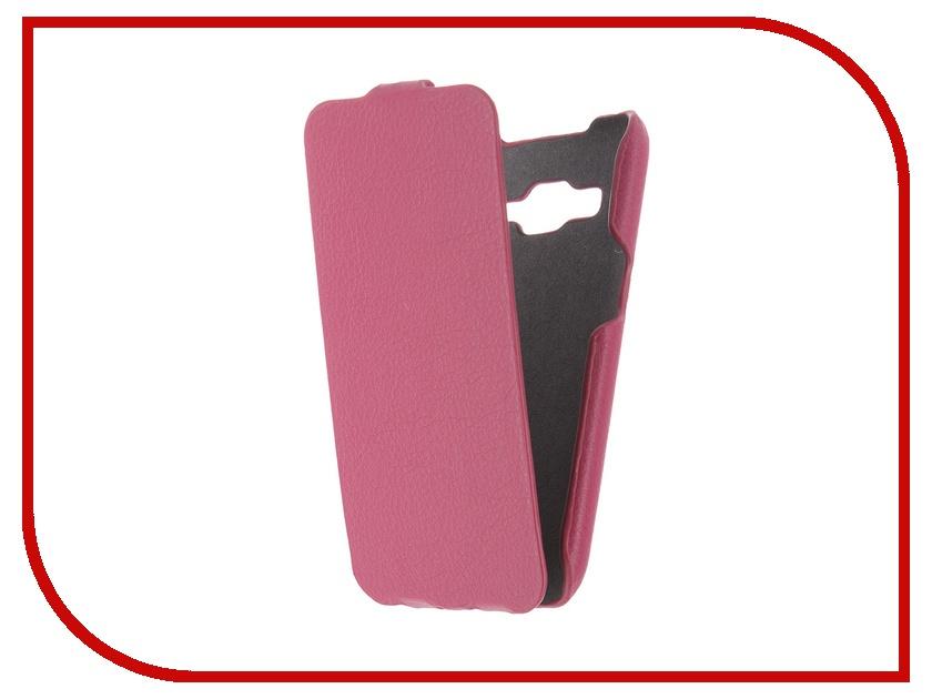 Аксессуар Чехол Samsung G360/G361 Galaxy Core Prime iBox Premium Pink<br>