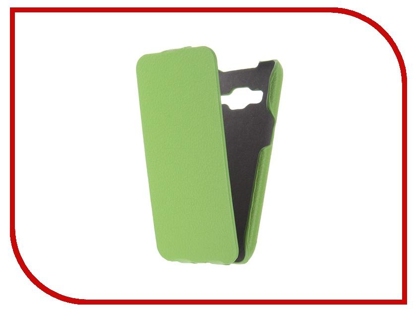 Аксессуар Чехол Samsung G360/G361 Galaxy Core Prime iBox Premium Green<br>