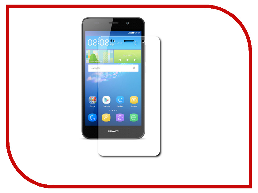 Аксессуар Защитная пленка Huawei Y6 Red Line<br>