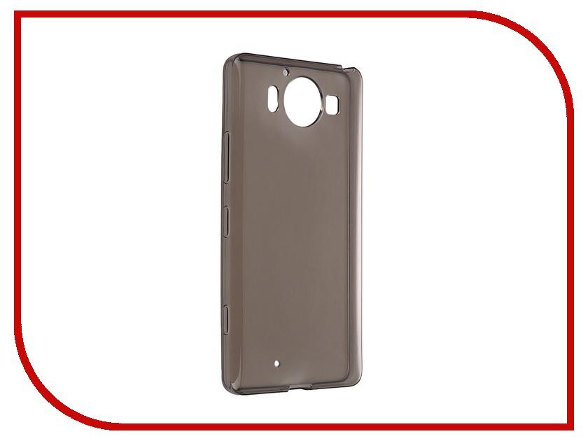 Аксессуар Чехол Microsoft Lumia 950 iBox Crystal Grey<br>