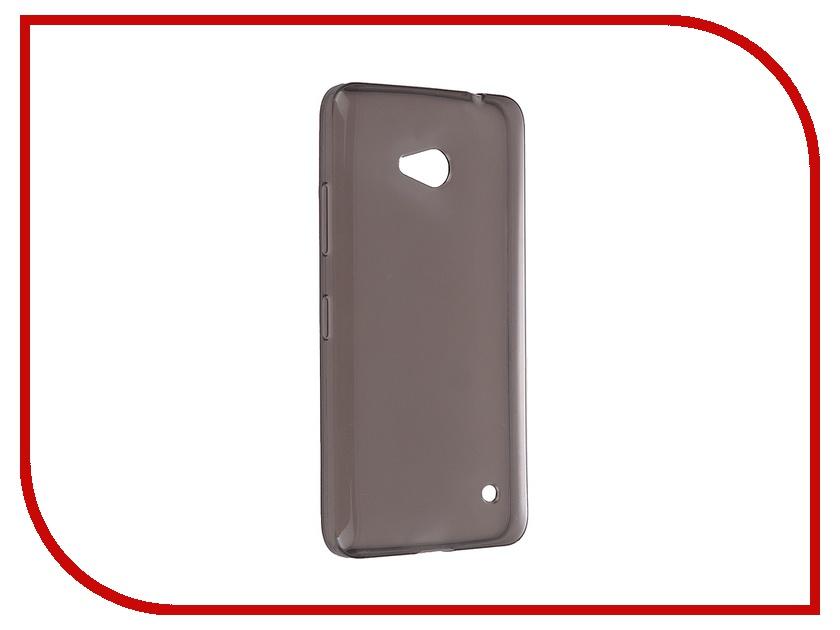 Аксессуар Чехол Microsoft Lumia 640 iBox Crystal Grey<br>