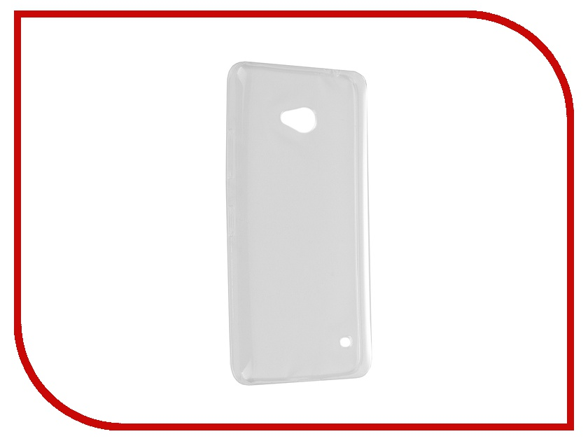 Аксессуар Чехол Microsoft Lumia 640 iBox Crystal Transparent