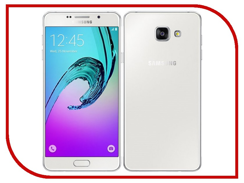 Сотовый телефон Samsung SM-A510F/DS Galaxy A5 (2016) White samsung galaxy a5 sm a510f ds pink gold