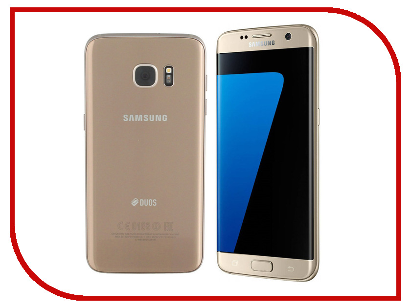 Сотовый телефон Samsung SM-G935F Galaxy S7 Edge 32Gb Gold Platinum samsung galaxy s7 edge 32gb gold