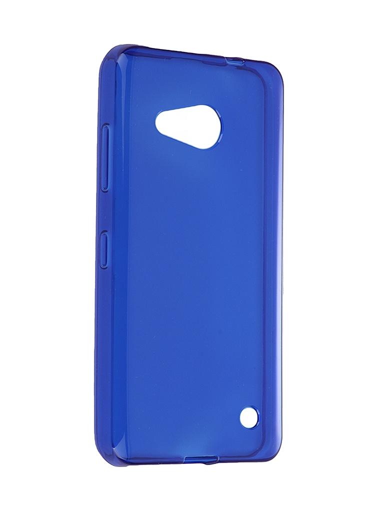 Аксессуар Чехол Microsoft Lumia 550 iBox Crystal Blue<br>