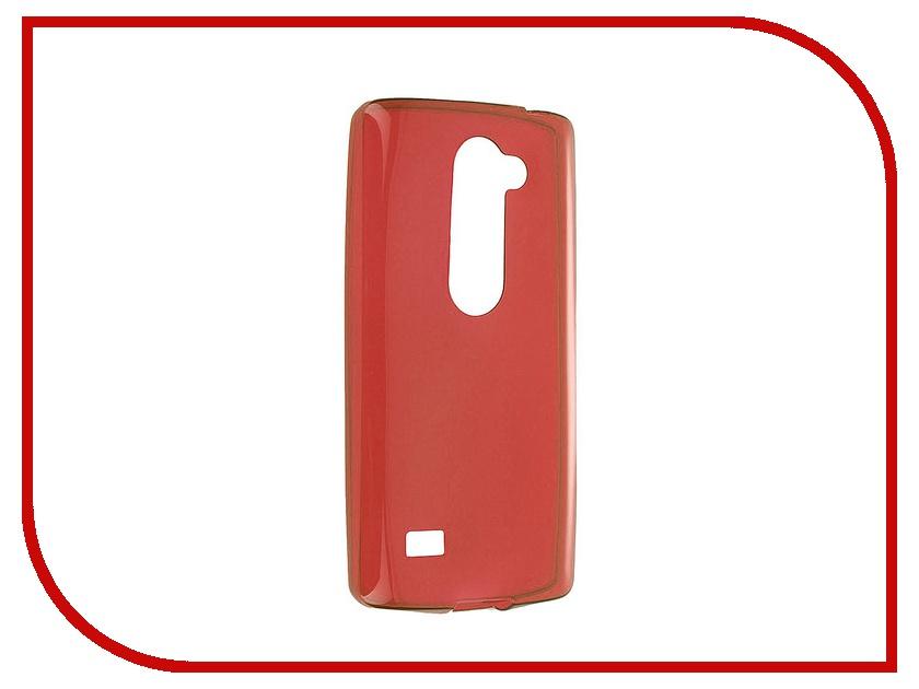 Аксессуар Чехол LG Leon iBox Crystal Red<br>