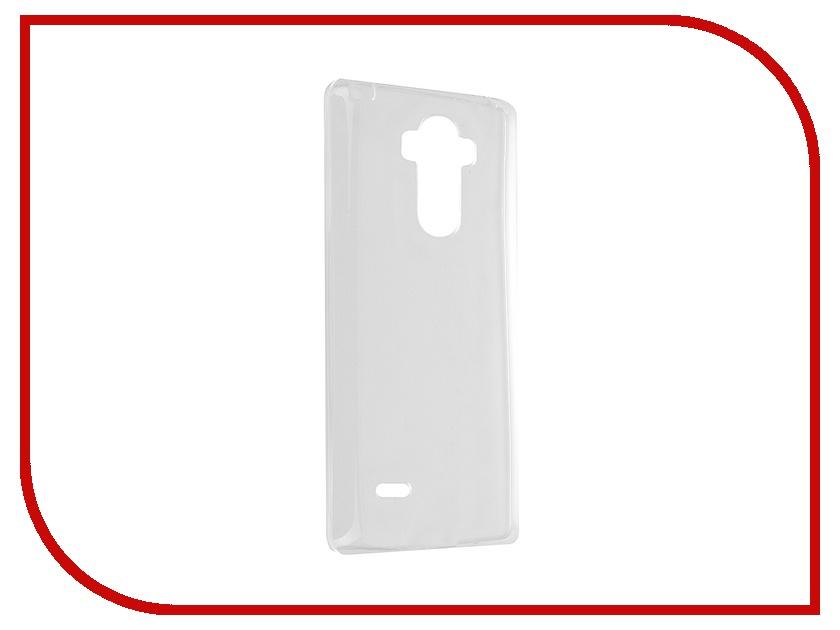 Аксессуар Чехол LG G4 Stylus iBox Crystal Transparent<br>